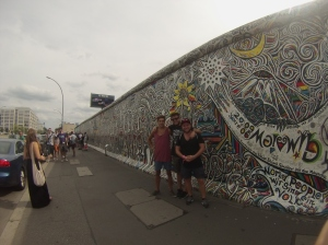 Tyson, Johathan and Me - East Side Gallery - Berlin
